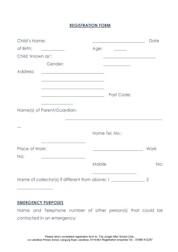 Child Medical Consent Form Sample 08