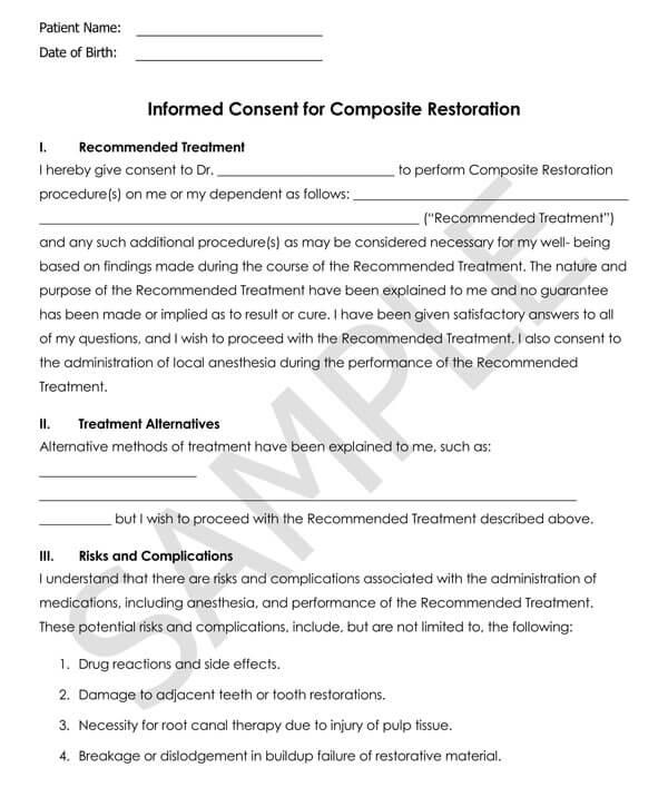 Dentistry-Informed-Consent-for-Composite-Restoration_
