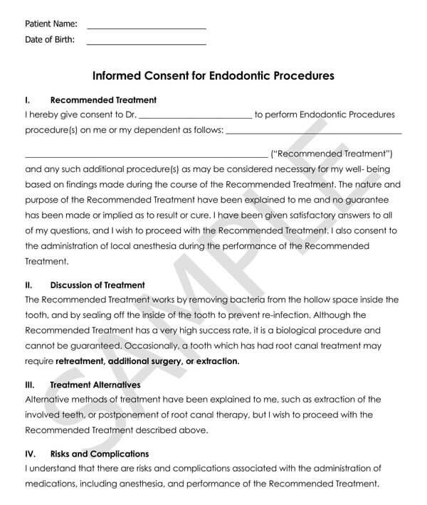 Dentistry-Informed-Consent-for-Endodontic-Procedures_