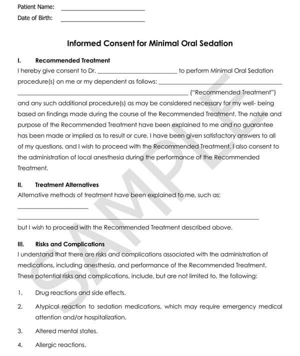 Dentistry-Informed-Consent-for-Minimal-Oral-Sedation_