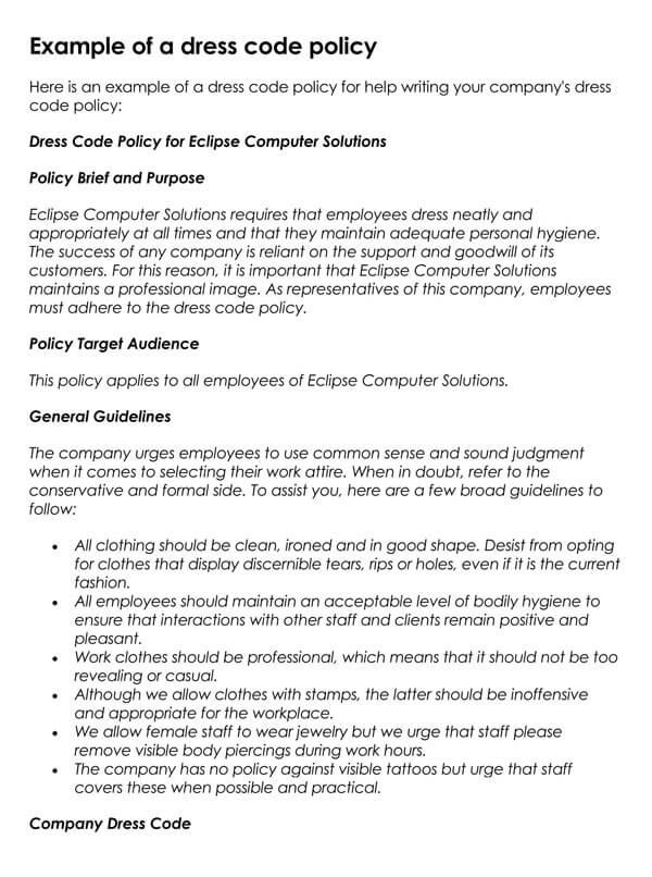 Dress-Code-Policy-Sample-01_