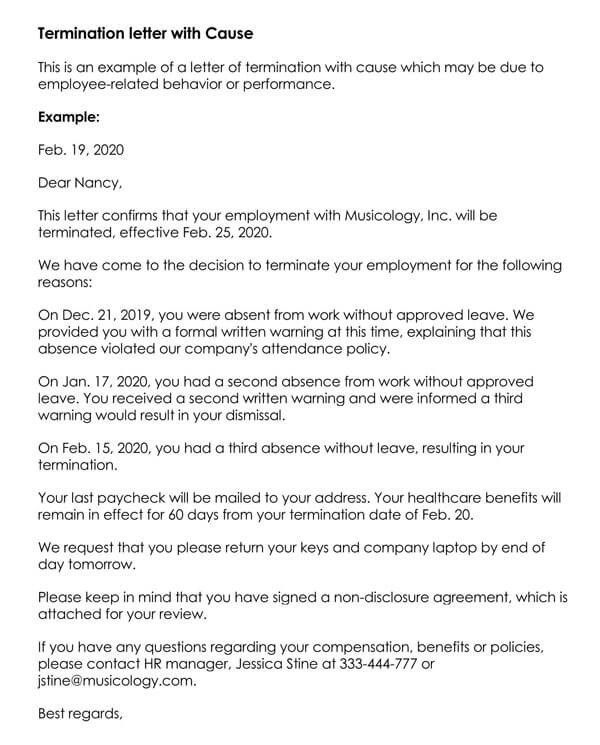Employee-Termination-letter-with-Cause_
