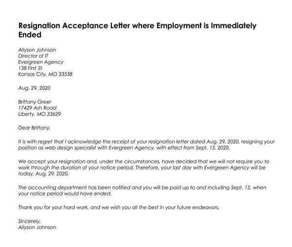 Resignation-Acceptance-Letter-where-Employment-is-Immediately-Ended