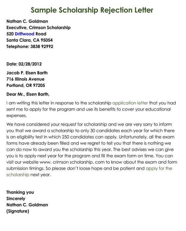 Scholarship-Rejection-Letter-Sample-