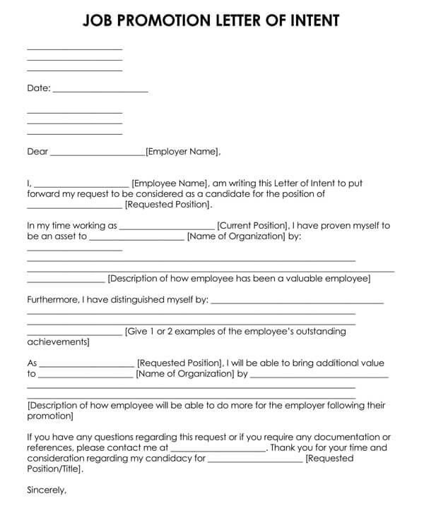 Job-Promotion-Letter-of-Intent
