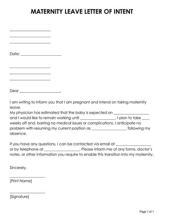 Maternity-Leave-Letter-of-Intent-01_