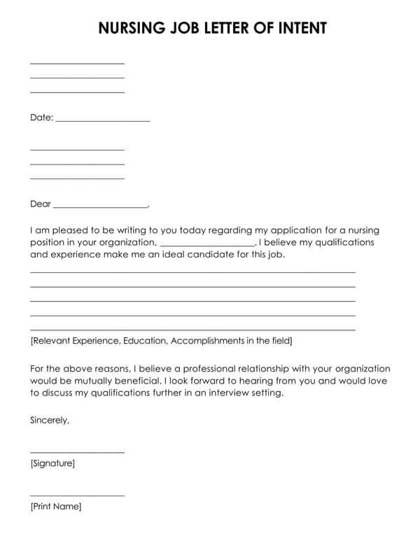 Nursing-Job-Letter-of-Intent-Template_