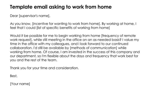 Template-Email-asking-to-Work-from-Home_