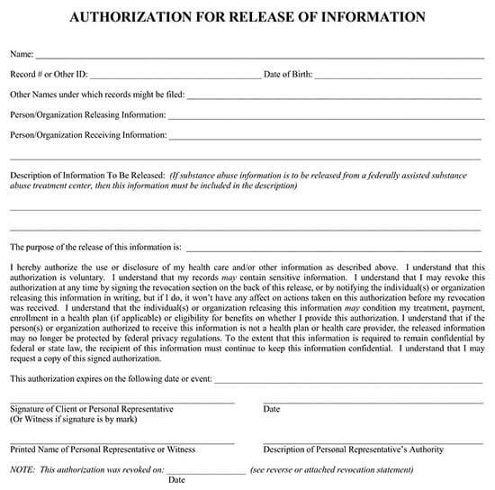 medical records request form pdf