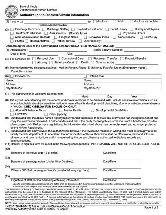 authorization to release medical records letter 01