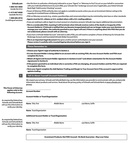 specific power of attorney form 07