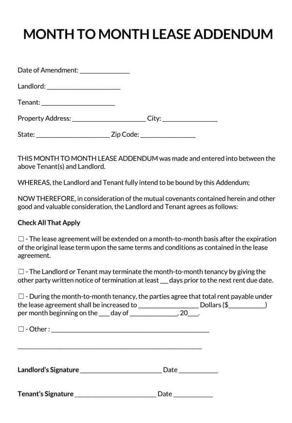 Month-to-Month-Lease-Addendum-Template