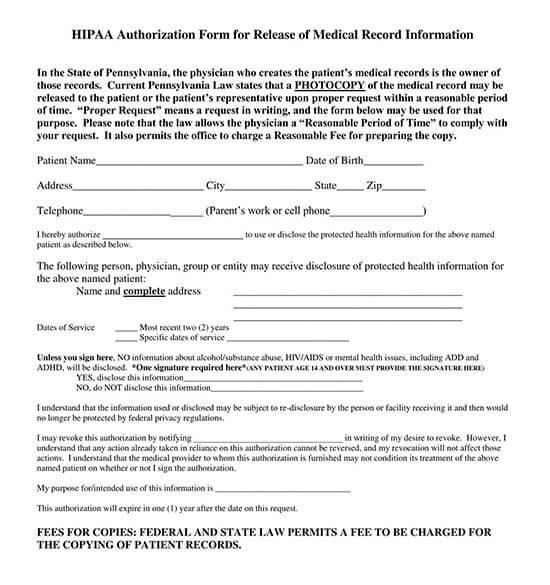 printable medical release form 04