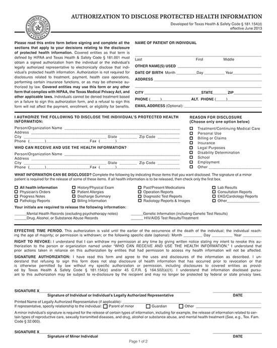 general release of information form pdf 05