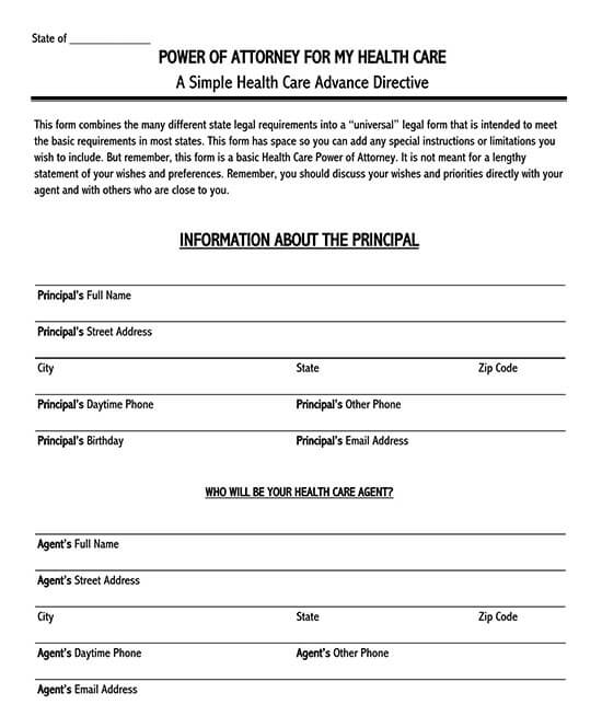 power of attorney form texas 06