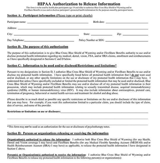 general release of information form pdf 06