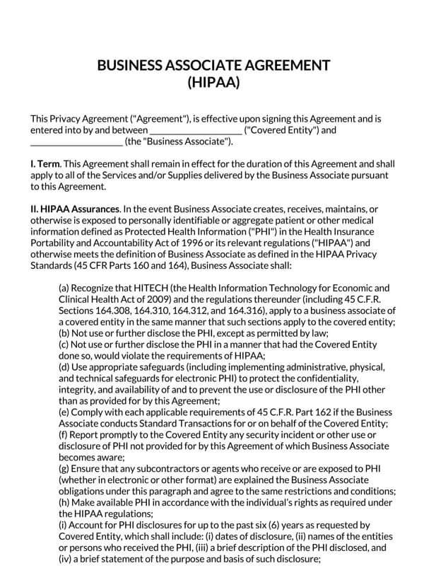 Business-Associate-Agreement-HIPAA_
