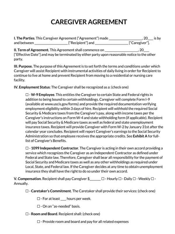 Caregiver-Independent-Contractor-Agreement