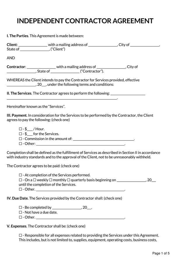 Comprehensive-Independent-Contractor-Agreement