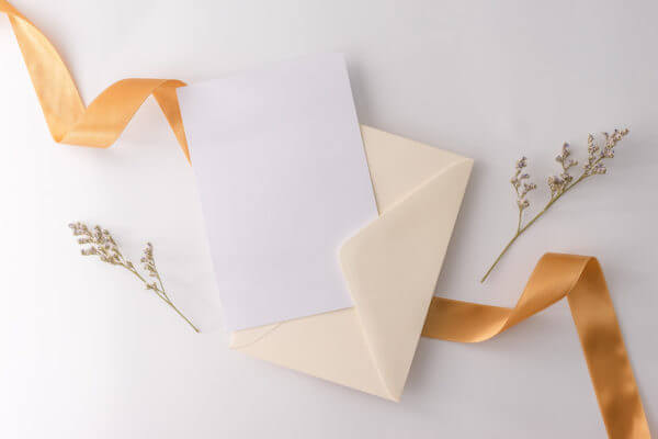 Invitation thank you note