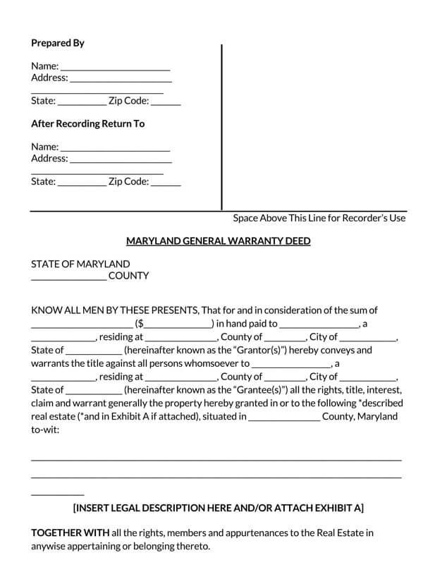 Maryland-General-Warranty-Deed-Form_