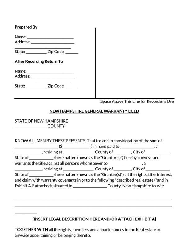 New-Hampshire-General-Warranty-Deed-Form_