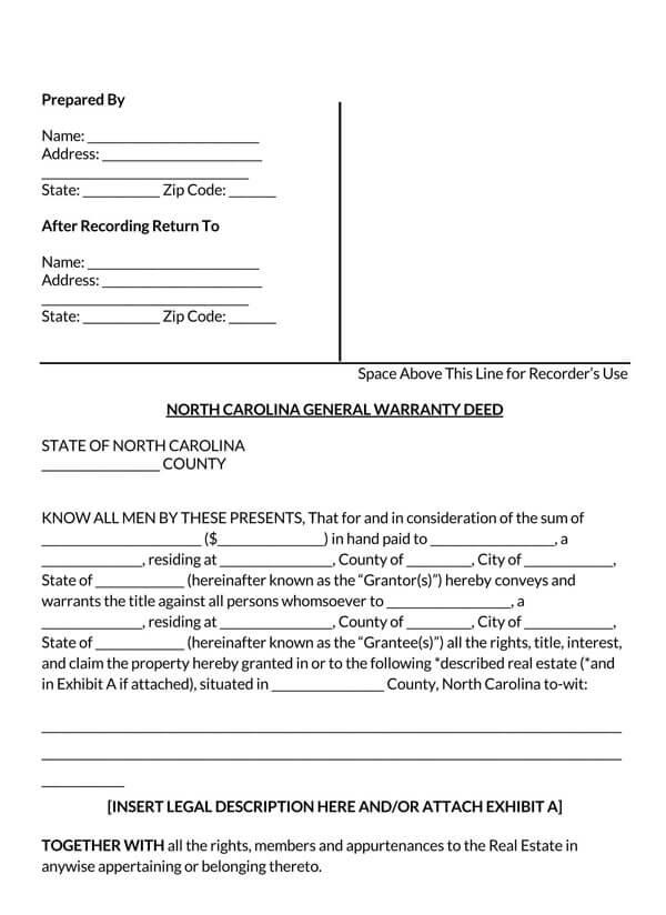 North-Carolina-General-Warranty-Deed-Form_