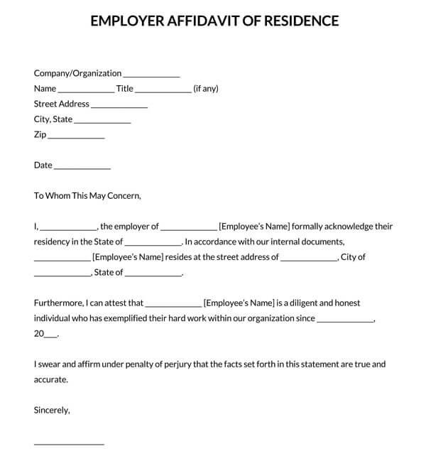 Employer-Affidavit-of-Residence-Letter_