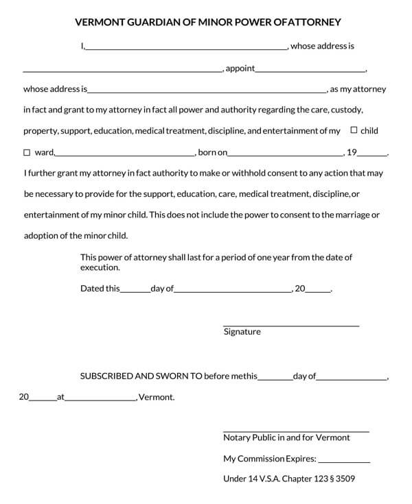 Vermont-Power-of-Attorney-Form_