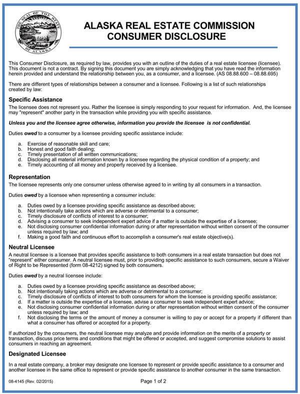 Alaska-Real-Estate-Commission-Consumer-Disclosure