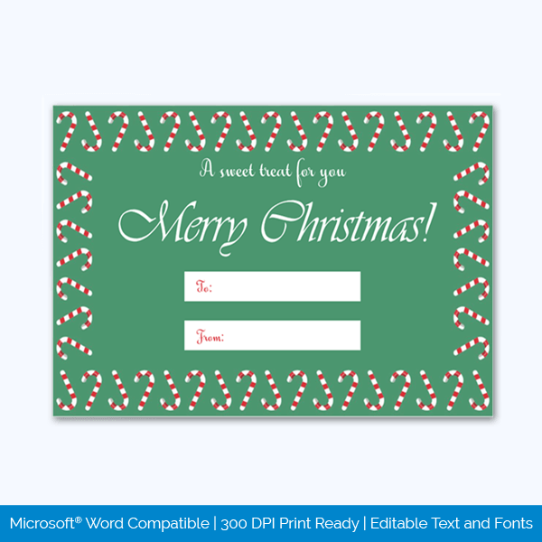 Free Download Gift Tag