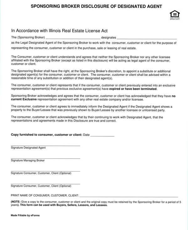 Illinois-Sponsoring-Broker-Disclosure-of-Designated-Agent