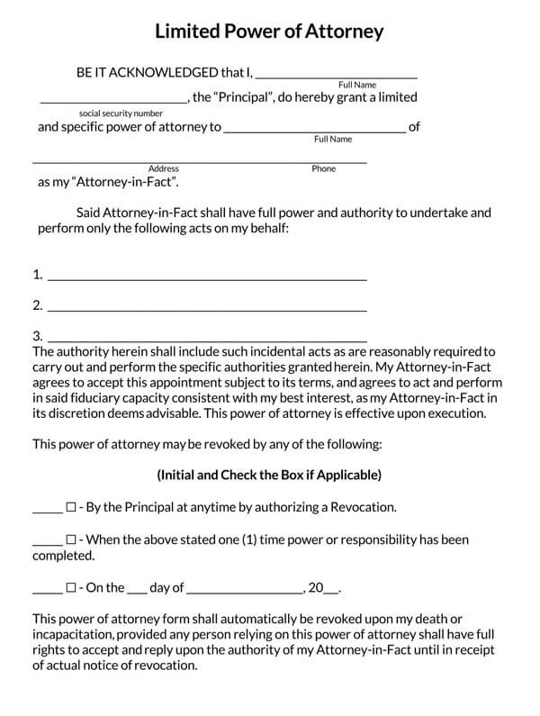 Limited-Power-of-Attorney-Form