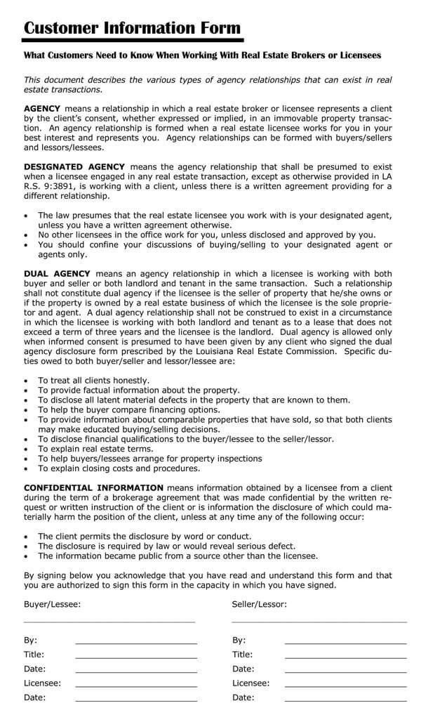 Louisiana-Agency-Disclosure-Form