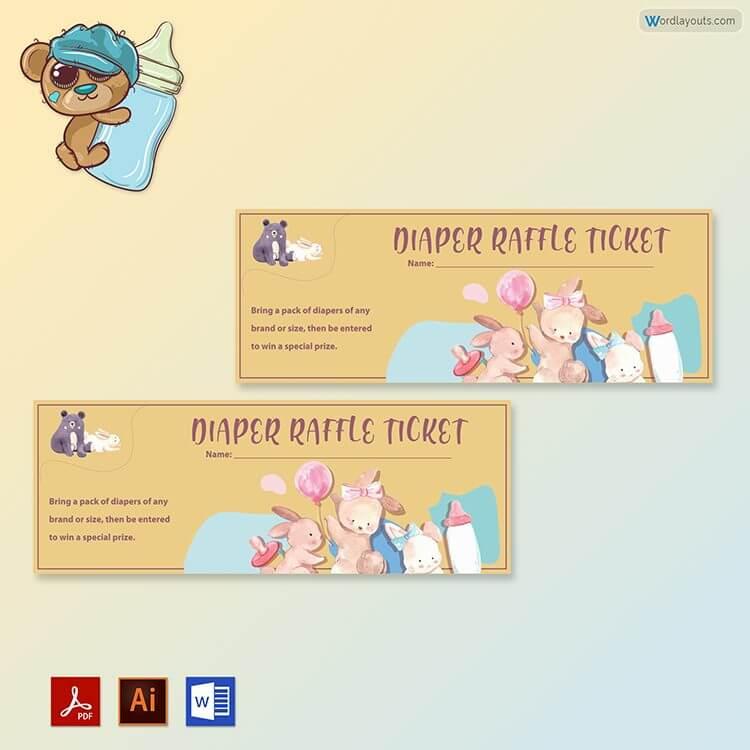 Free Diaper Raffle Ticket