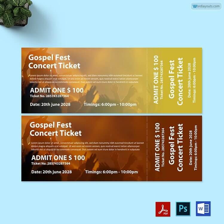 Gospel Fest Concert Ticket Free