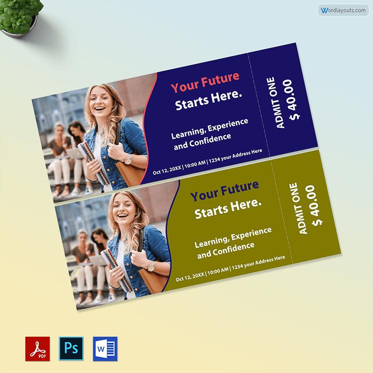 Printable Raffle Ticket