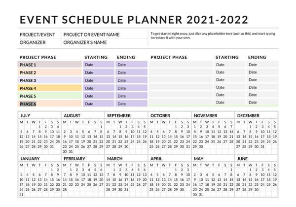 Event-Schedule-Planner-Sample