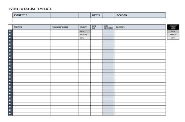Event-To-Do-List-Template