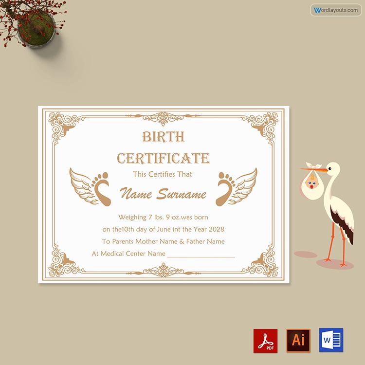 Birth Certificate Free