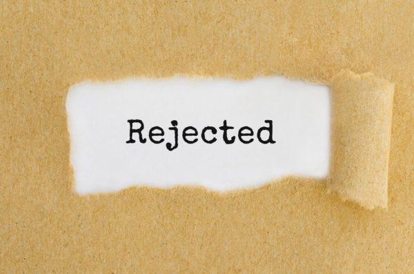 tenant rejection letter