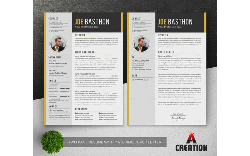 Financial Accountant Resume Template 09