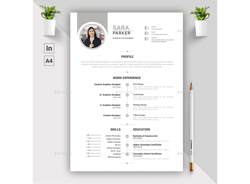 Financial Accountant Resume Template 10