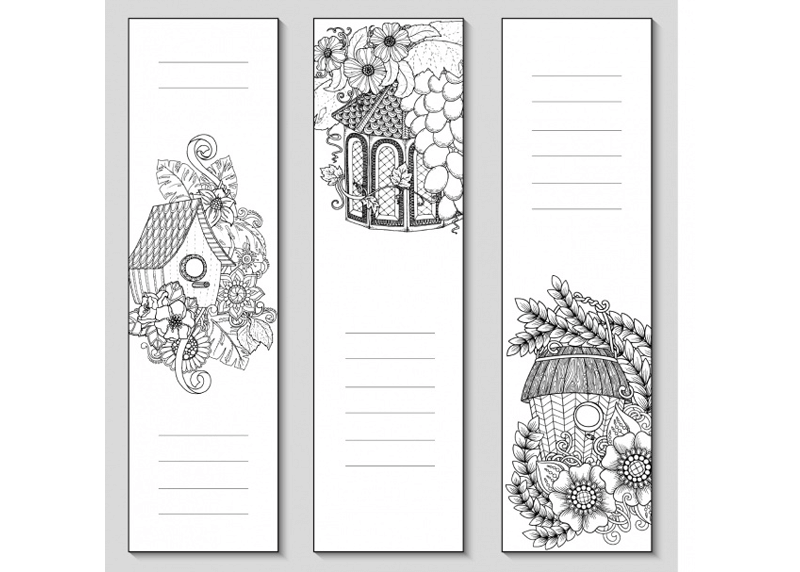 Bookmark Template 34
