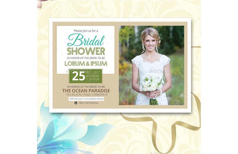 Bridal Shower Invitation Templates 05