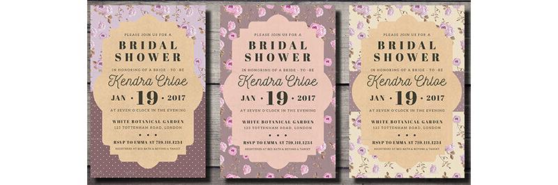 Bridal Shower Invitation Templates 09