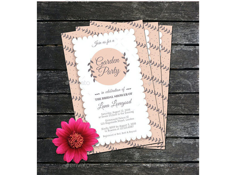 Bridal Shower Invitation Templates 10