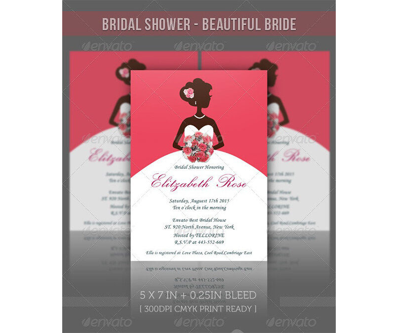 Bridal Shower Invitation Templates 13