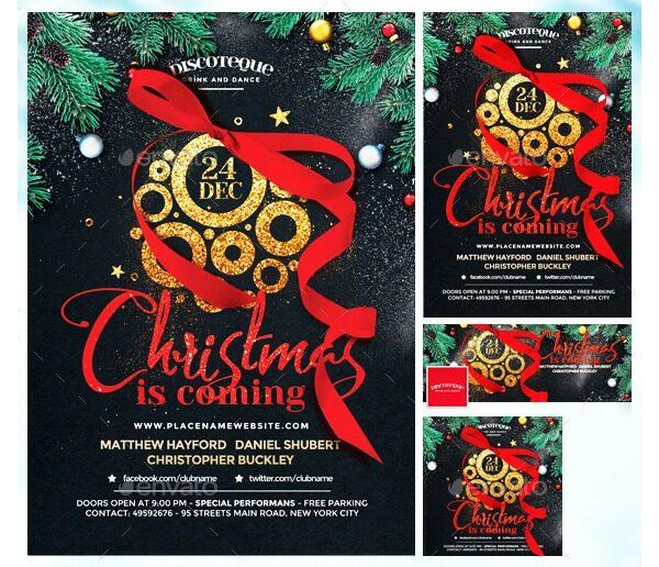 Christmas Party Invitation 11