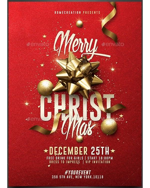 Christmas Party Invitation 12